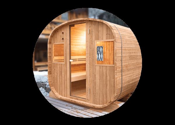 sauna aquaflo exterieur