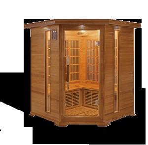 sauna aquaflo luxe-3c