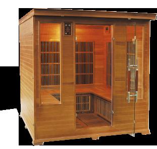 sauna aquaflo luxe-club