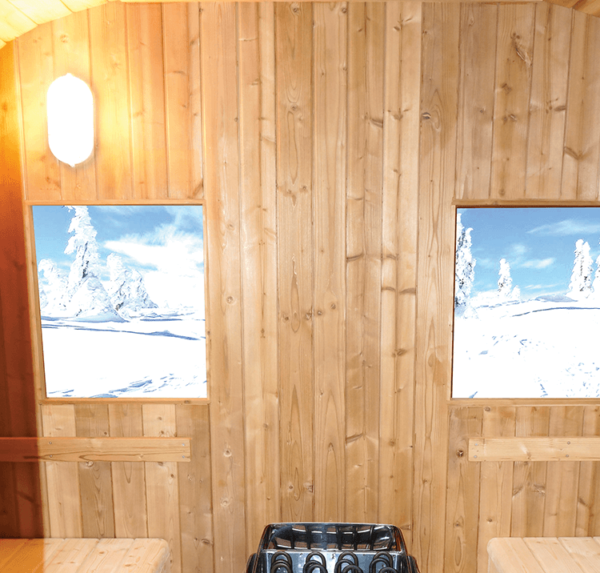 sauna aquaflo point2-eclairage