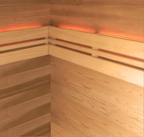 sauna aquaflo point3-chromo