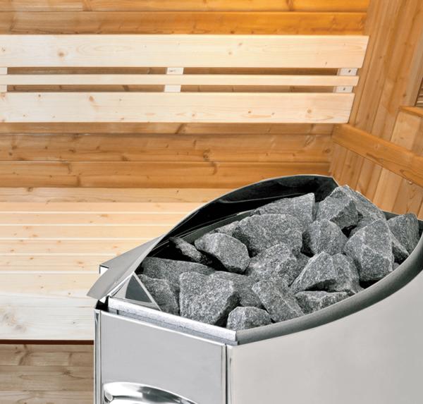 sauna aquaflo point3-poele