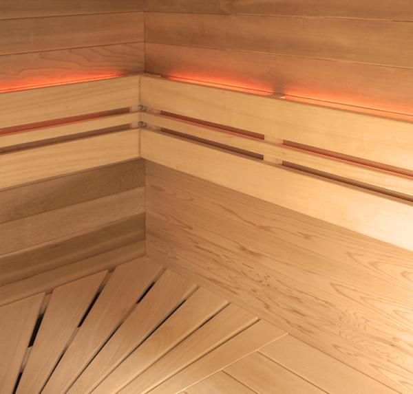 sauna aquaflo point4-chromotherapie