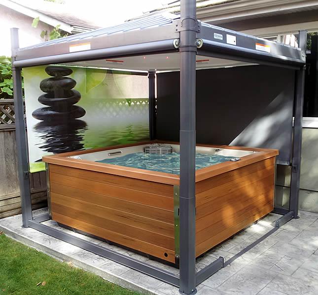 accessoire spa aquaflo mural