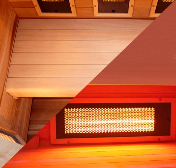 sauna multiwave point2-banc-aquaflo