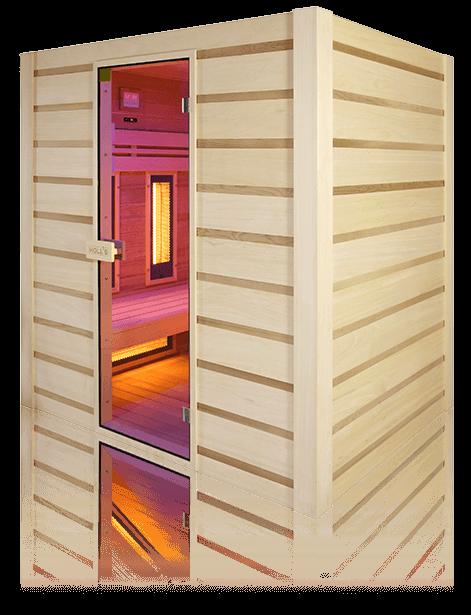 hybrid-combi-perspective sauna aquaflo