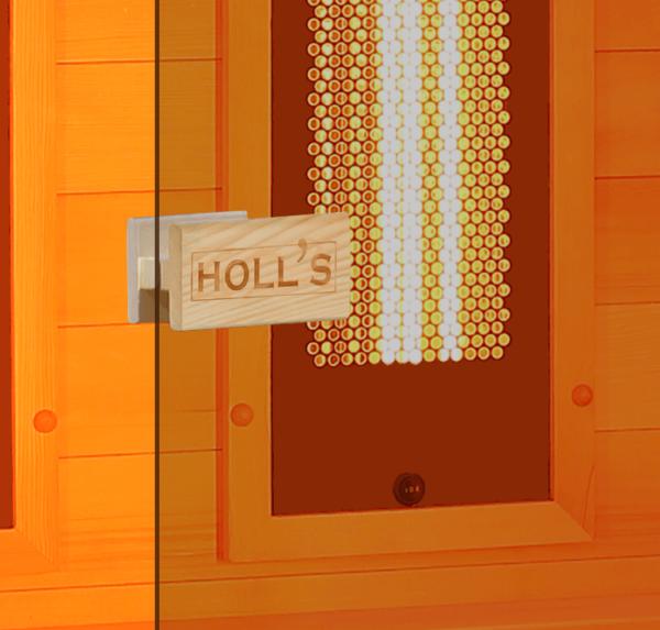 sauna holl's Hybrid Combi porte aquaflo