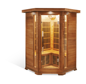 sauna aquaflo luxe-2c
