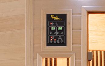 panneau-controle sauna aquaflo