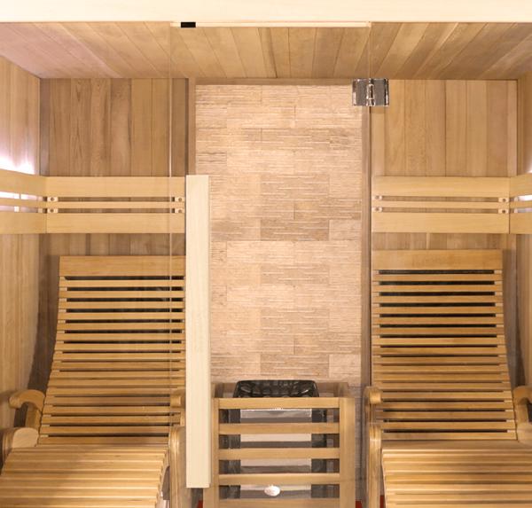 sauna aquaflo point2-esthetique