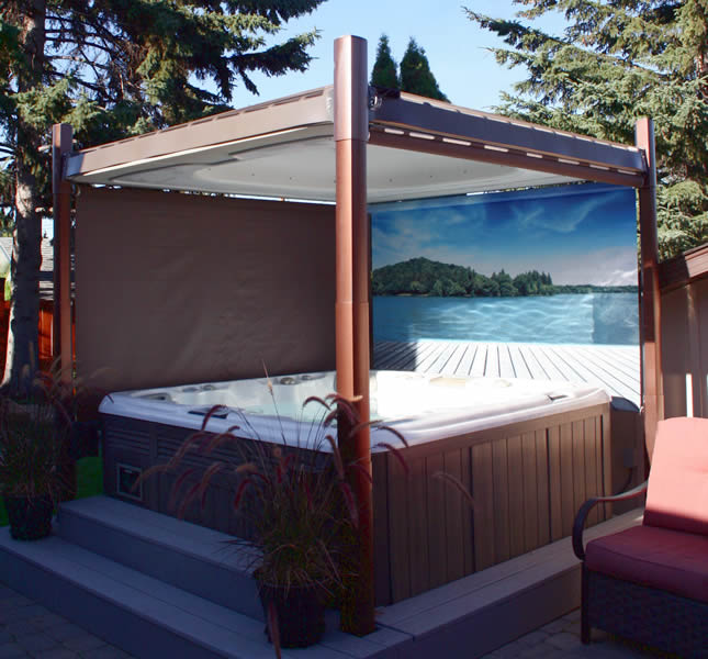 accessoire spa aquaflo island