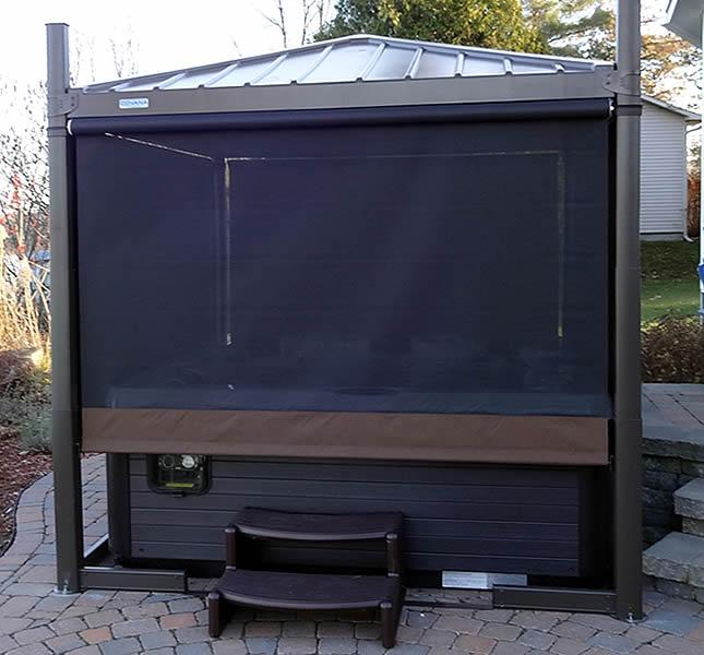 accessoire spa aquaflo screens